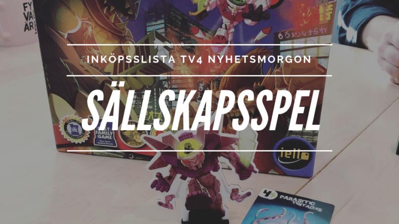 Inköpslista TV4 Nyhetsmorgon – Sällskapsspel