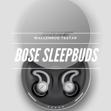 Bose sleepbuds – räddar förhållanden!
