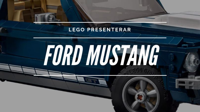 DRÖMLEGOT – Ford Mustang 1967