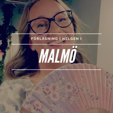 Ni hittar mig i Malmö i helgen!