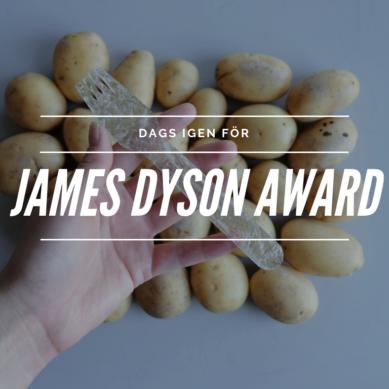 James Dyson Awards till Sverige för andra året!!