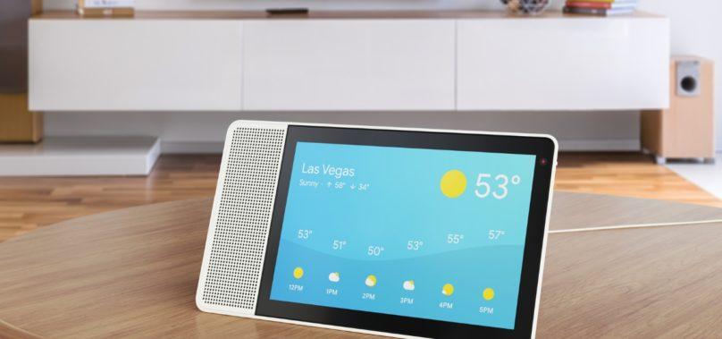 Lenovo Smart Display med Google Assistent