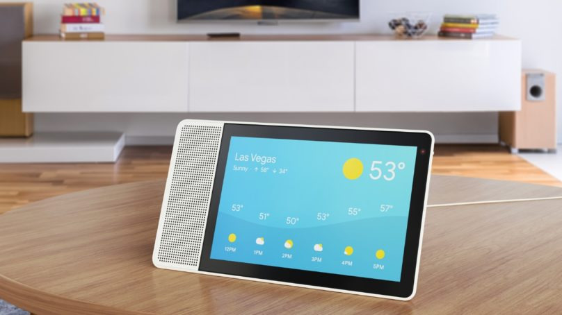 Lenovo Smart Display med Google Assistent