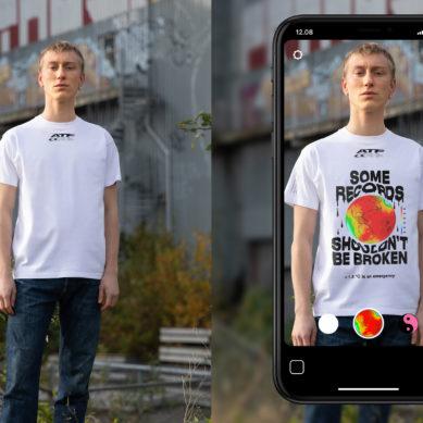 Carlings lanserar världen första AR t-shirt