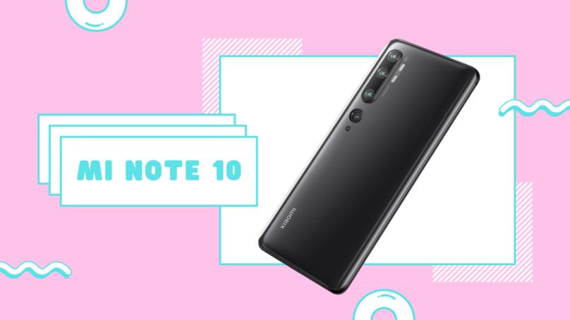 Wallenrud testar Mi Note 10 av Xiaomi