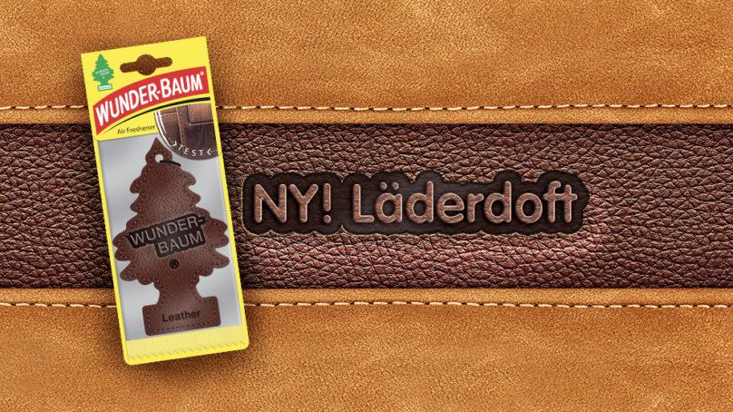 Ny doftgran med läderdoft från WUNDER-BAUM