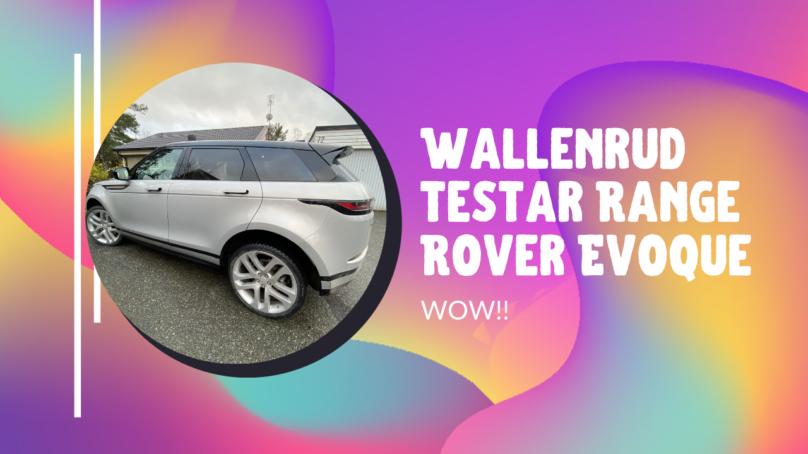 Range Rover Evoque – topp 3 av drömbilar