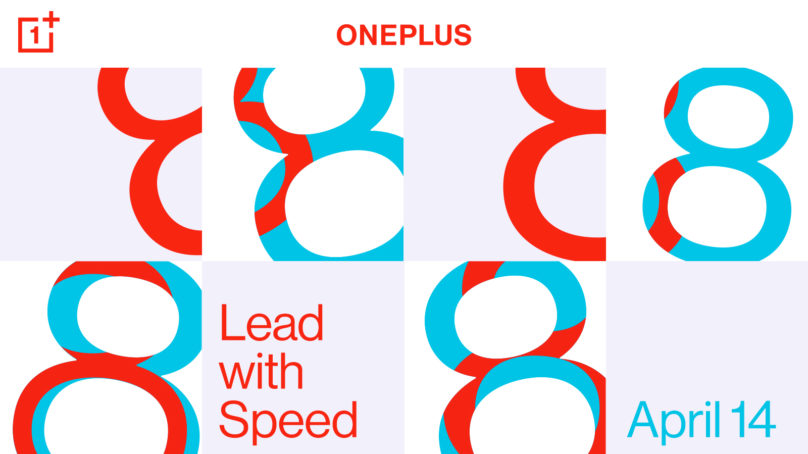 OnePlus 8-serien lanseras den 14 april