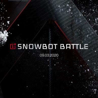 OnePlus startar snöbollskrig  mellan 5G-drivna robotar i Snowbot Battle