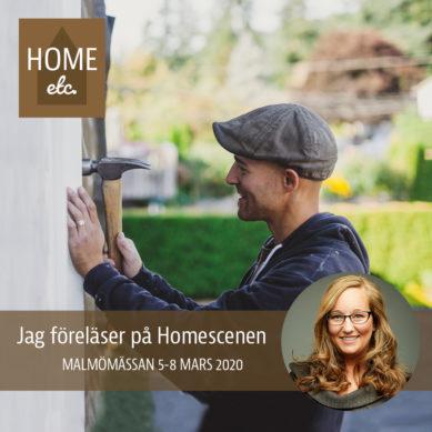 Home Etc i Malmö – jag på scen!