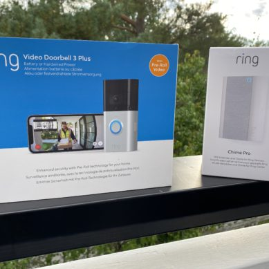 Ring Video Doorbell 3 plus och Chime Pro