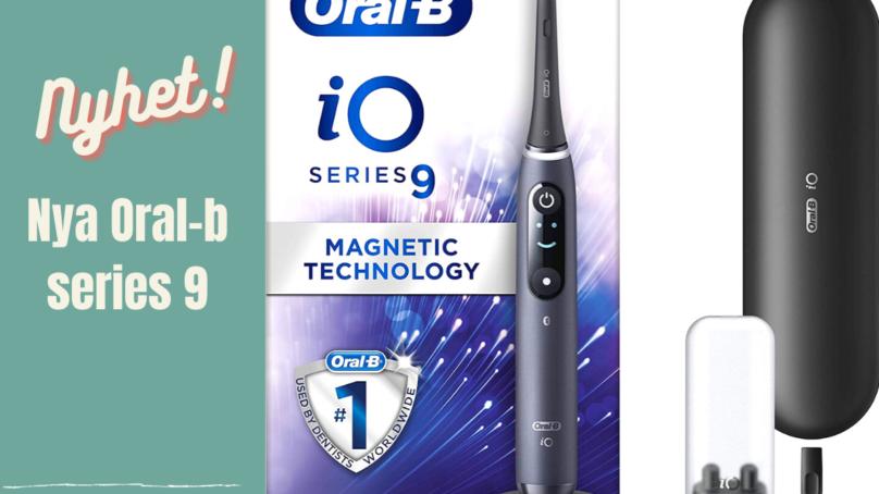 Oral-B iO-SERIEN – NYHET!