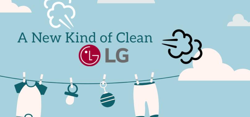 LG introducerar ny tvättrådssymbol – A New Kind of Clean 👗