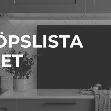 Inköpslista TV4 Nyhetsmorgon – Köksprylar