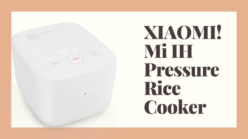 Wallenrud testar Xiaomi Riskokare (Mi IH Pressure Rice Cooker) 🍚