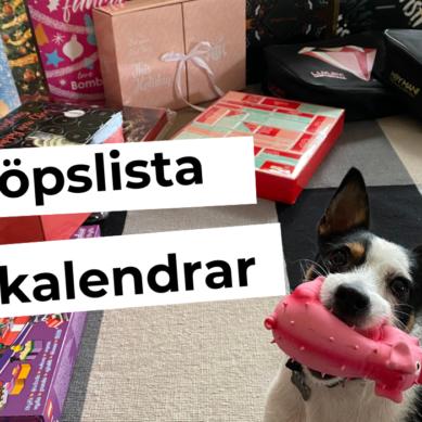 Inköpslista TV4 Nyhetsmorgon – Julkalender