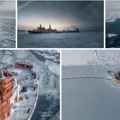 Isbrytande atomkraft i Norra ishavet – med 75 000 hk!