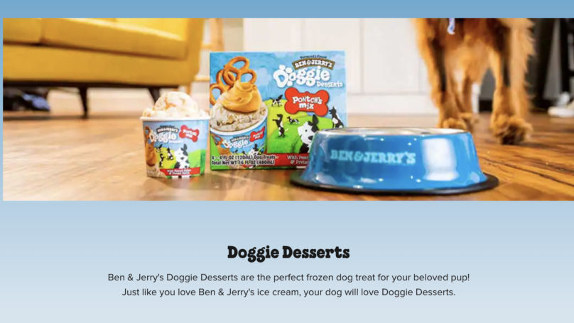 Ben & Jerry gör glass för… hunden!!