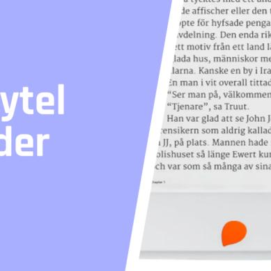 Storytel Reader test