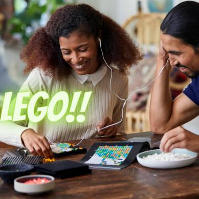 11 695 legobitar – Lego Art världskarta