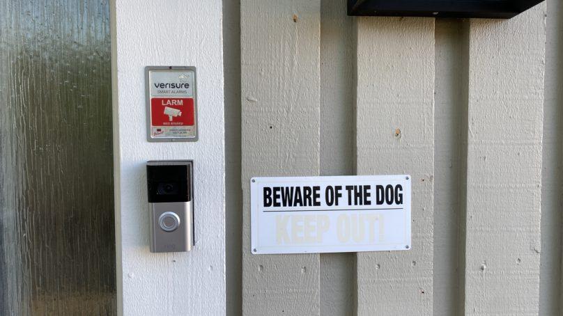Wallenrud testar RING Video Doorbell 4 – den smarta dörrklockan